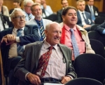 One of the earliest IIMS members, Clifford Parfett, enjoying conference